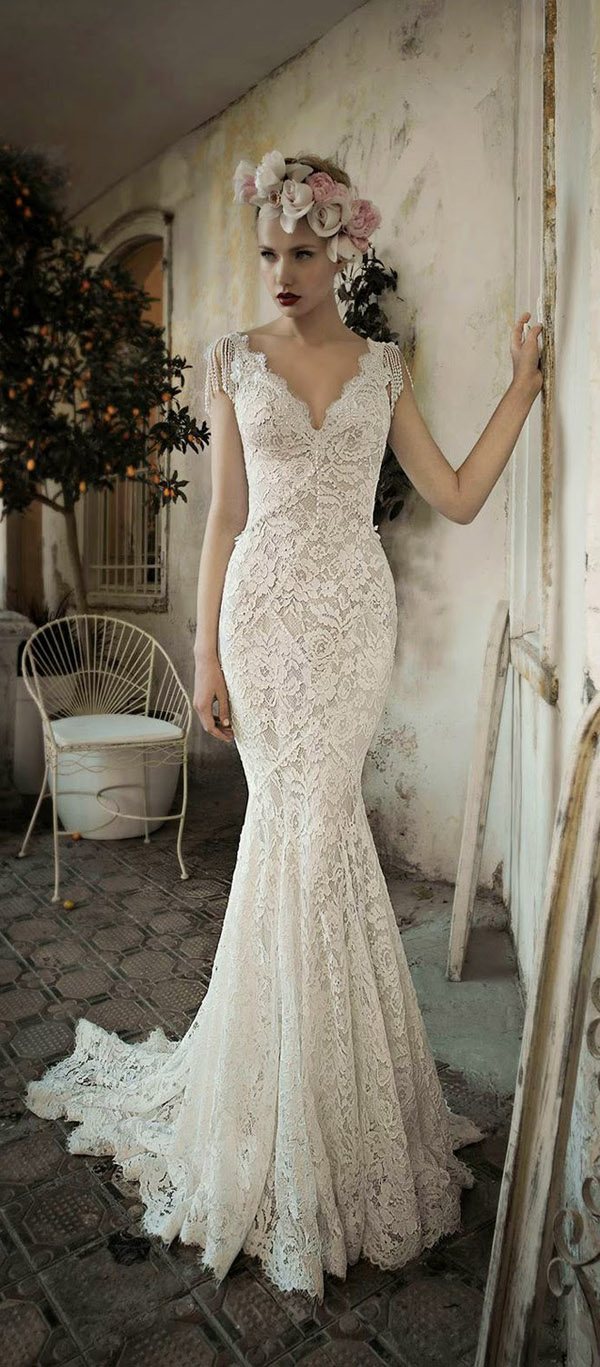 Top10 Retro Wedding Dresses 10