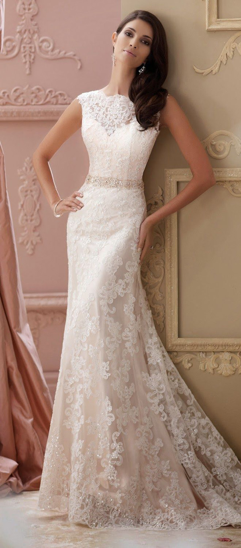 fall vintage wedding dress