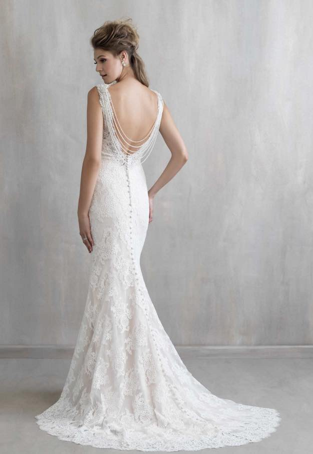 madison james modern elegant wedding dresses plus size