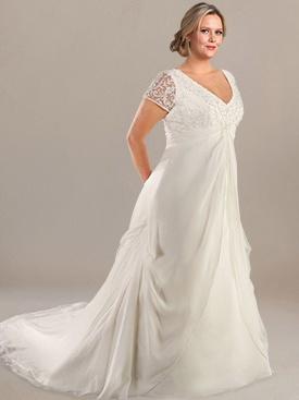 10 stunning plus size wedding dresses 04
