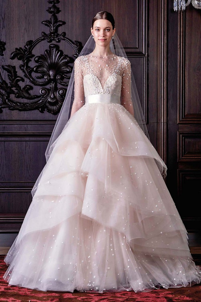 Top10 sexy tiered wedding dresses 06