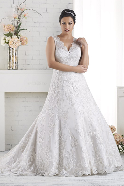10 elegant plus size wedding dresses 04
