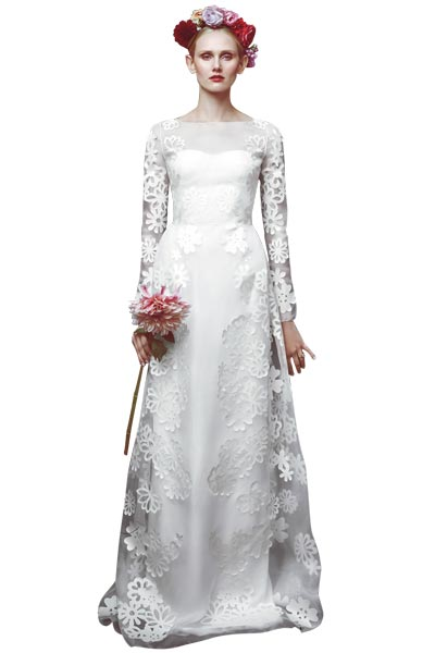 Top10 chic lace wedding dresses