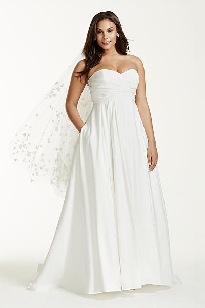 10 beautiful plus size wedding dresses 04