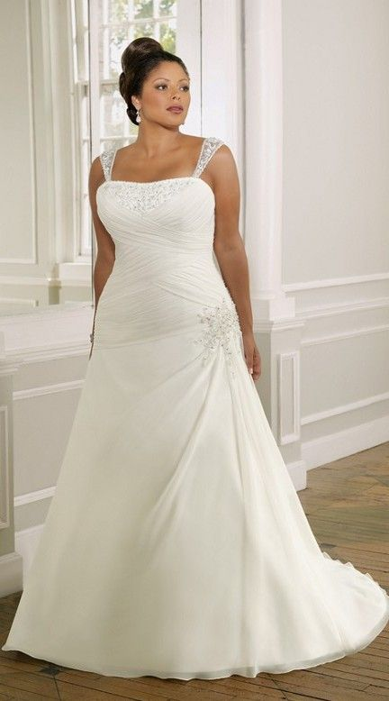 10 beautiful plus size wedding dresses 05