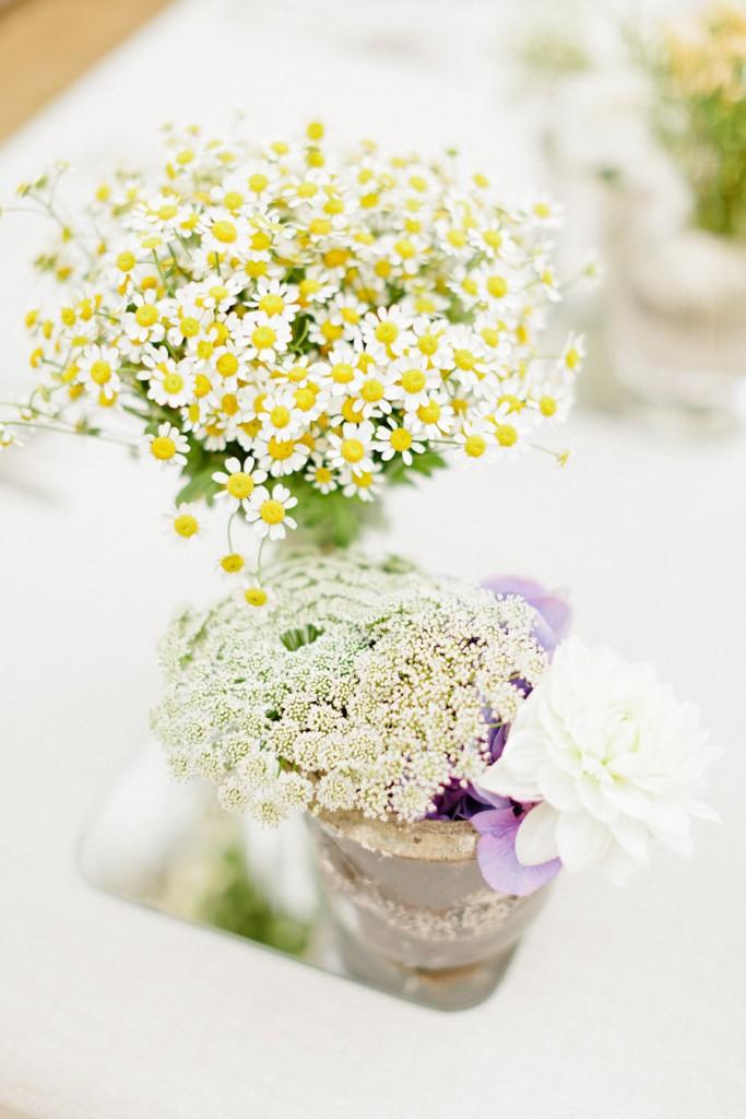 Beautiful wedding bouquet-Daisies