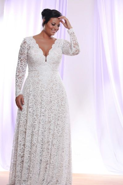 10 beautiful plus size wedding dresses 08