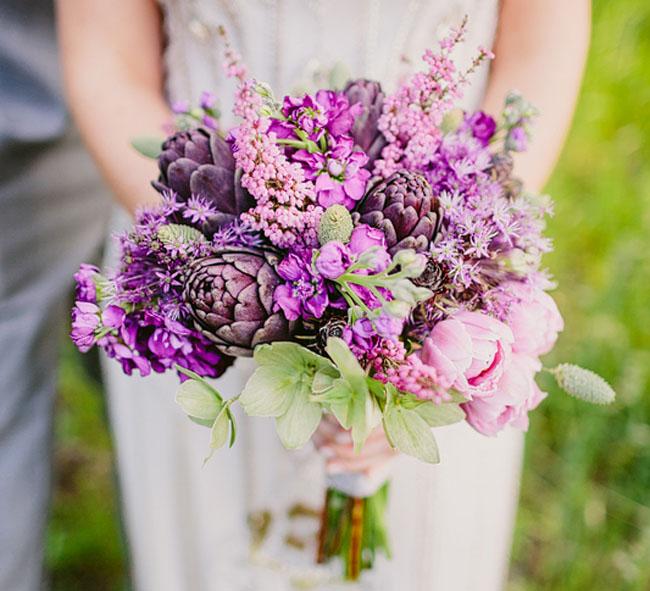 Beautiful Wedding Bouquet Lilacs