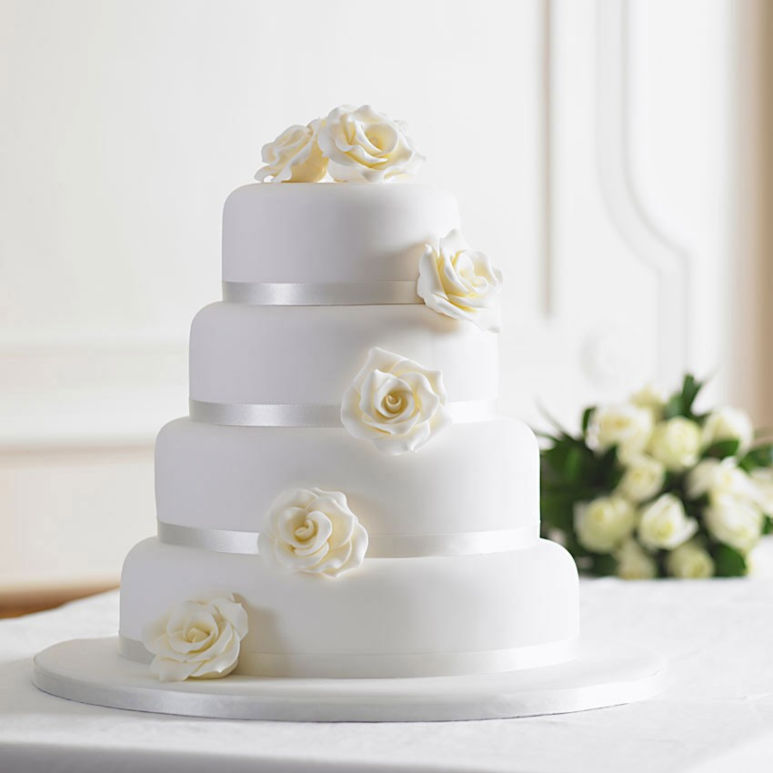 How to make a cheap wedding cake