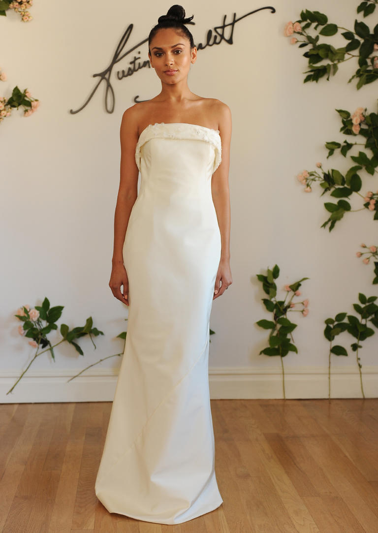 Bridal fashion week austin scarlett fall 2016 collection for Fall wedding dresses plus size