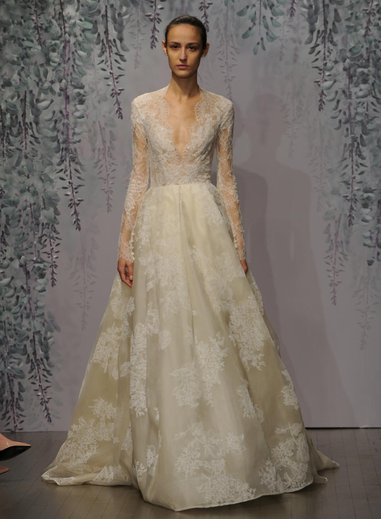 Monique Lhuillier Fall 2016 collection 10