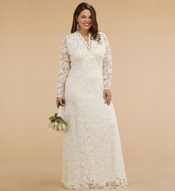 Plus size wedding dresses for curvy girl 05