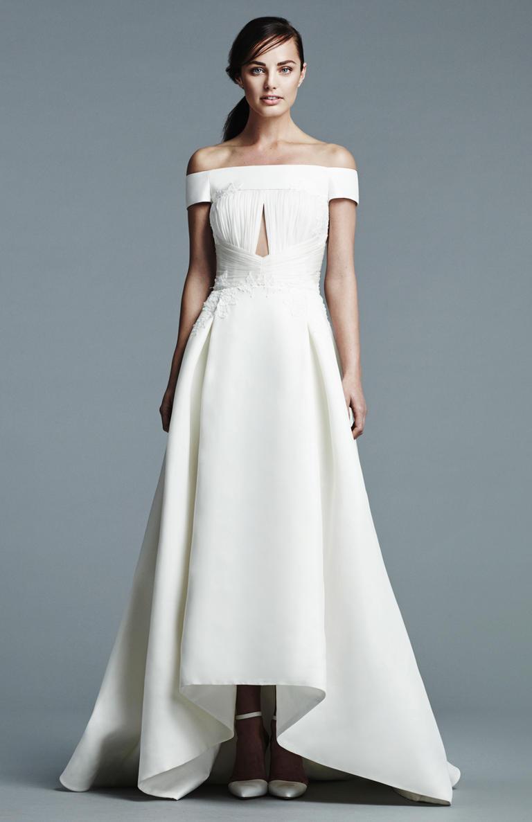Perfect Mauve Wedding Dress Ensign - All Wedding Dresses ...