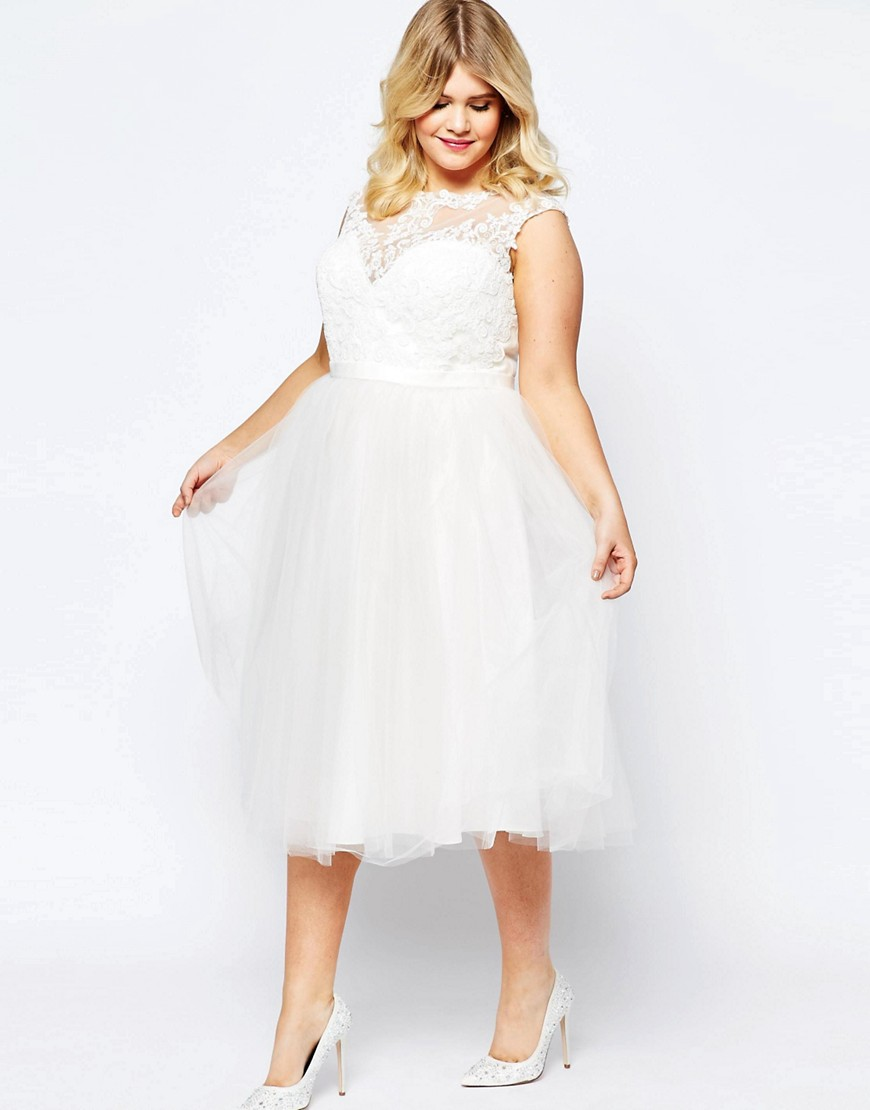 Asos Curve Bridal Wedding Dresses