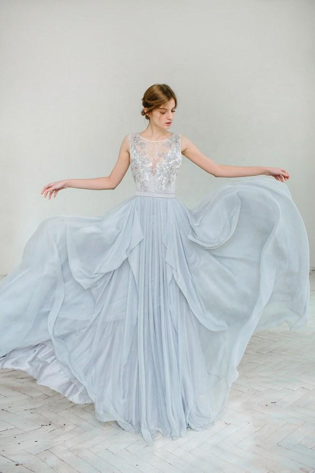 Top10 Spectacular And Elegant Blue Wedding Dresses For ...