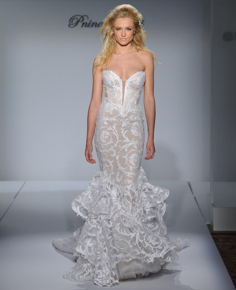 Rather Feminine Pnina Tornai Wedding Dresses 2016 Plus