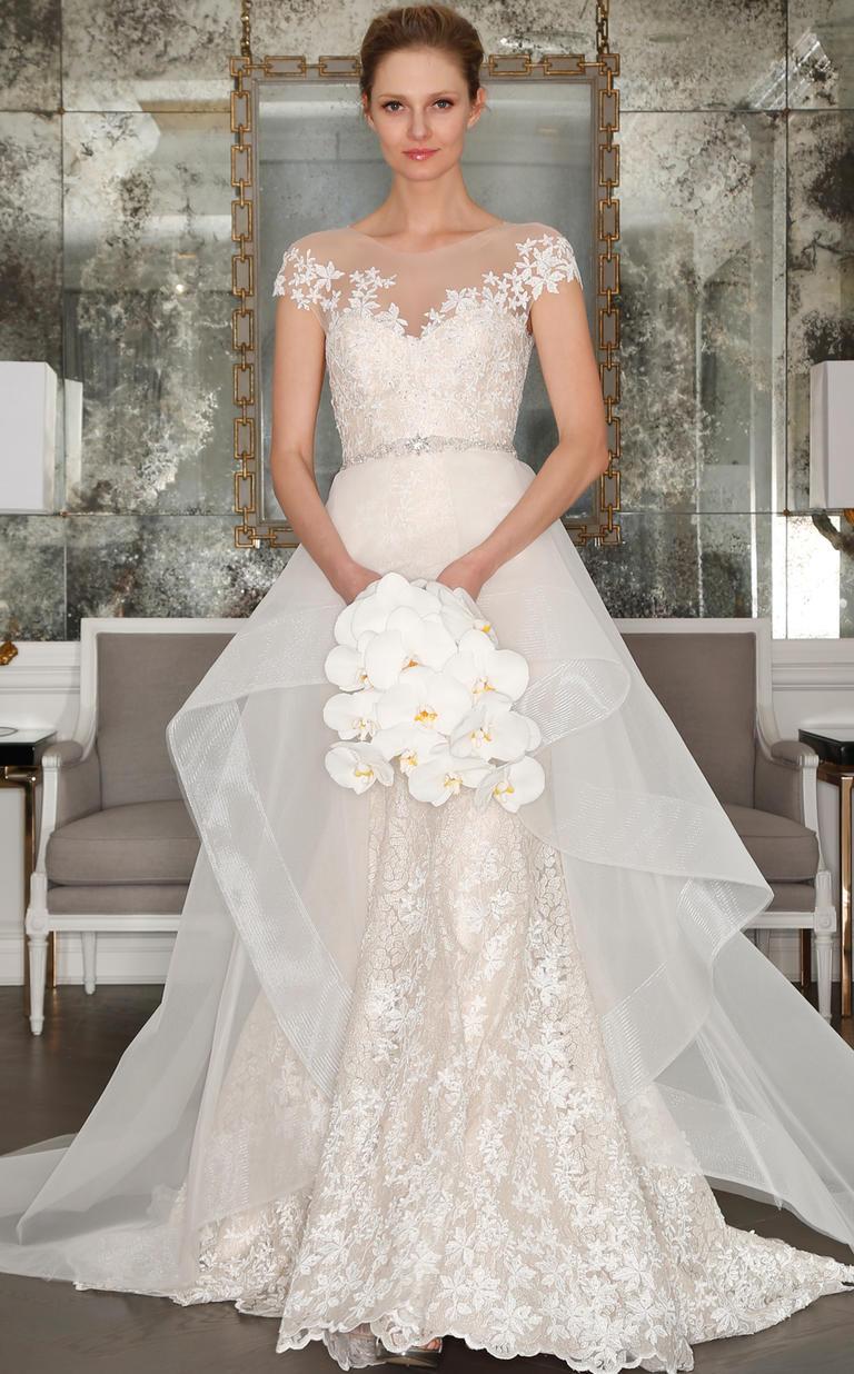 Ultra Romantic Romona Keveza Spring 2017 Wedding Dresses Plus