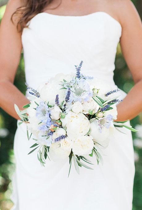 Elegant Blue Wedding Bouquets 08