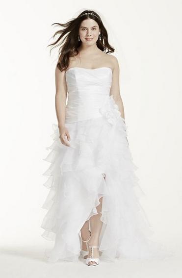 David's Bridal plus size wedding dresses 2016 08