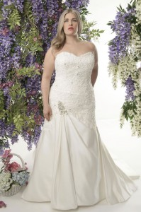 plus-size wedding dress