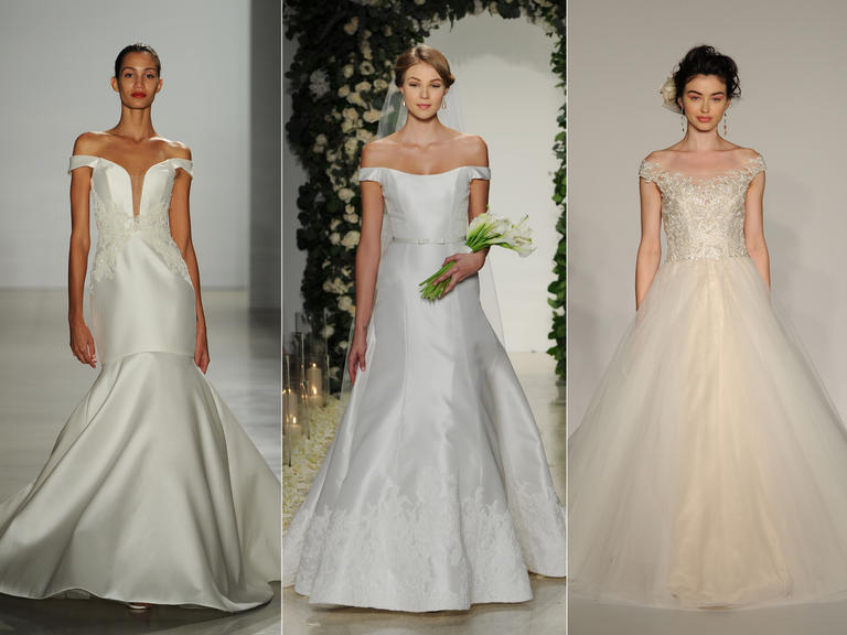Wedding Dresses With Off-the-Shoulder Sleeves