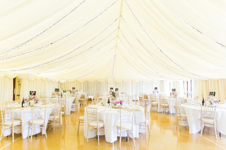 Village Hall Marquee Lining Drapes Fabric Soft Pink Rustic Boho Wedding http://www.natashacadman.com/