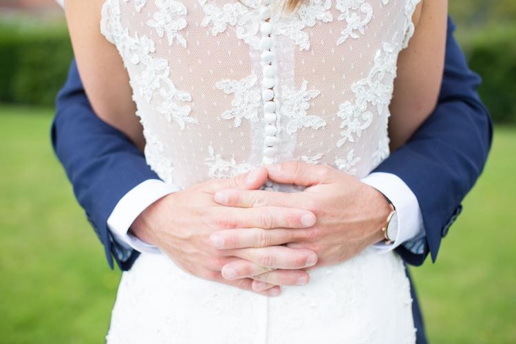 Sheer Lace Button Dress Back Bride Bridal Gown Soft Pink Rustic Boho Wedding http://www.natashacadman.com/