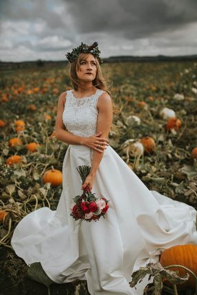 Pumpkin Field Autumn Wedding Ideas