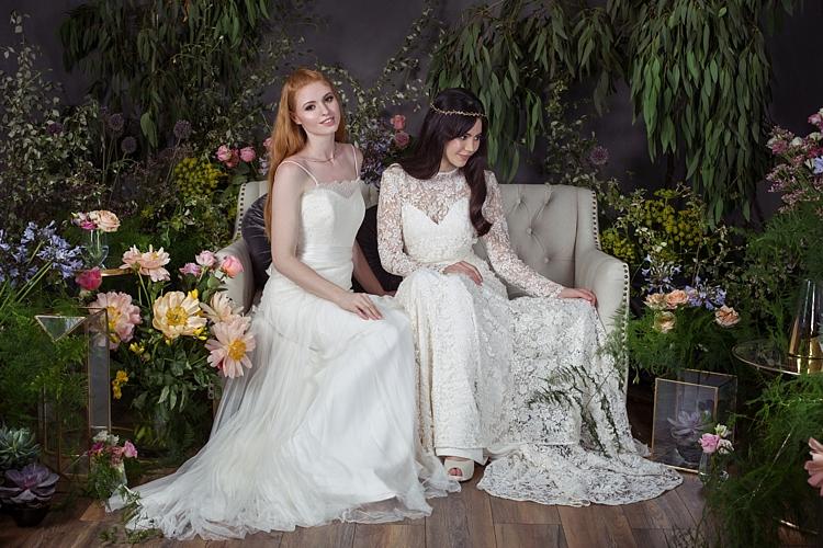 Amber & Leia Naomi Neoh 2017 Eden Wedding Bridal Dress Collection