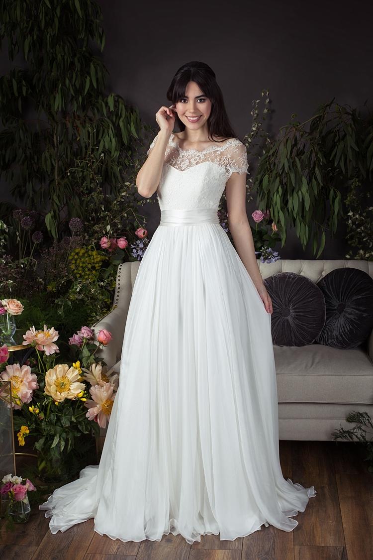 Ayla with Primrose Jacket Naomi Neoh 2017 Eden Wedding Bridal Dress Collection