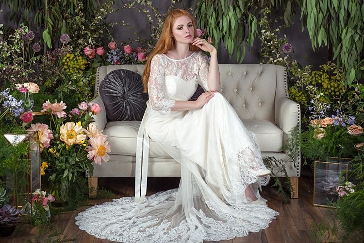 Kayeligh with Esther Top & Silk Sash Naomi Neoh 2017 Eden Wedding Bridal Dress Collection