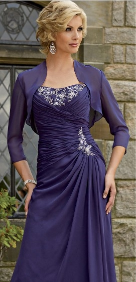 Purple Mother Of The Groom Dresses - Ocodea.com
