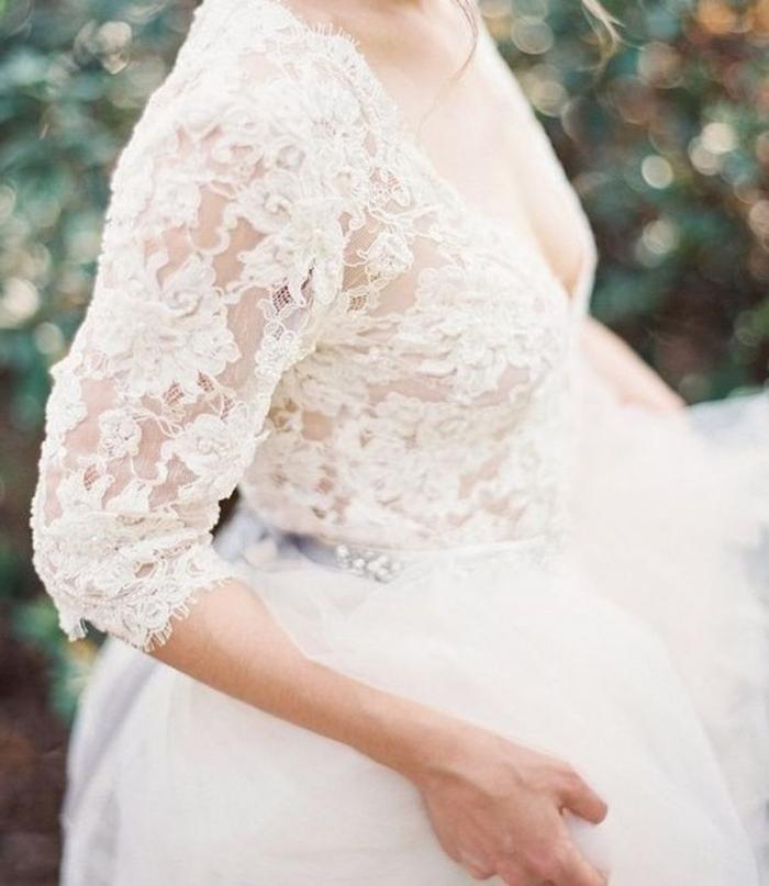 lace winter dress