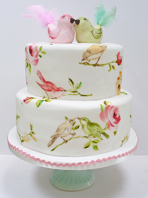 Watercolour & Painted Cakes