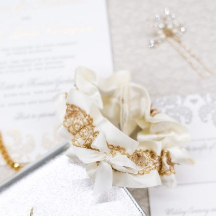 Wedding Garter Traditions, Old and New