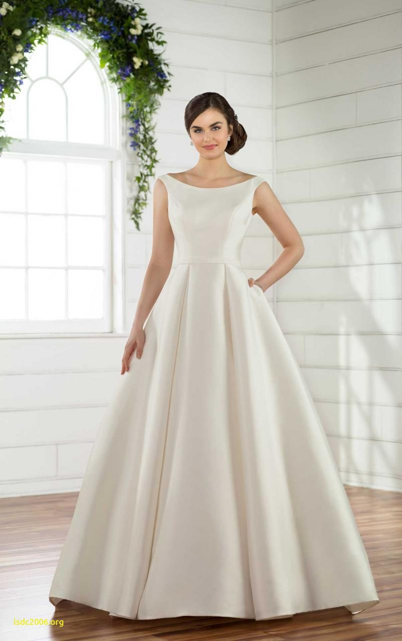 D2489 Ruffled Ballgown Wedding Dress by Essense of Australia
