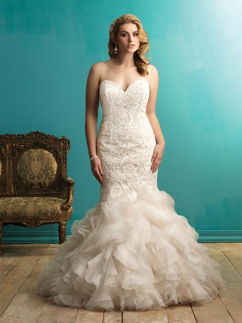 Allure bridal, plus size bridal