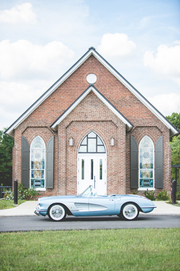 Purple and Blue River wedding in Kentucky