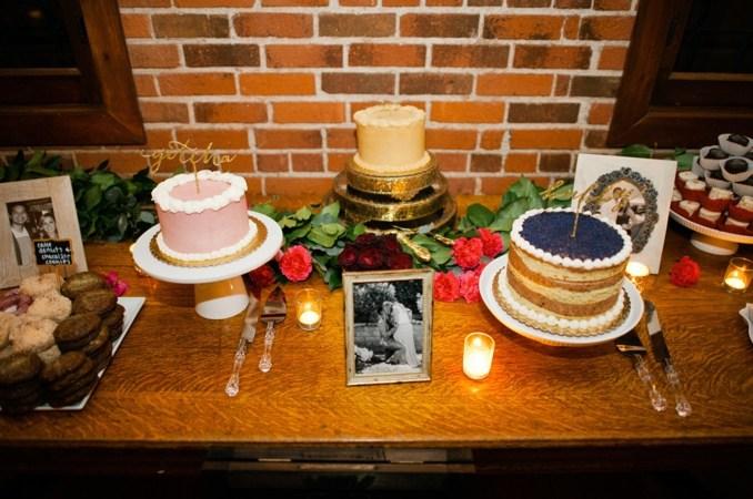 wedding cake, romantic, rustic, surprise wedding