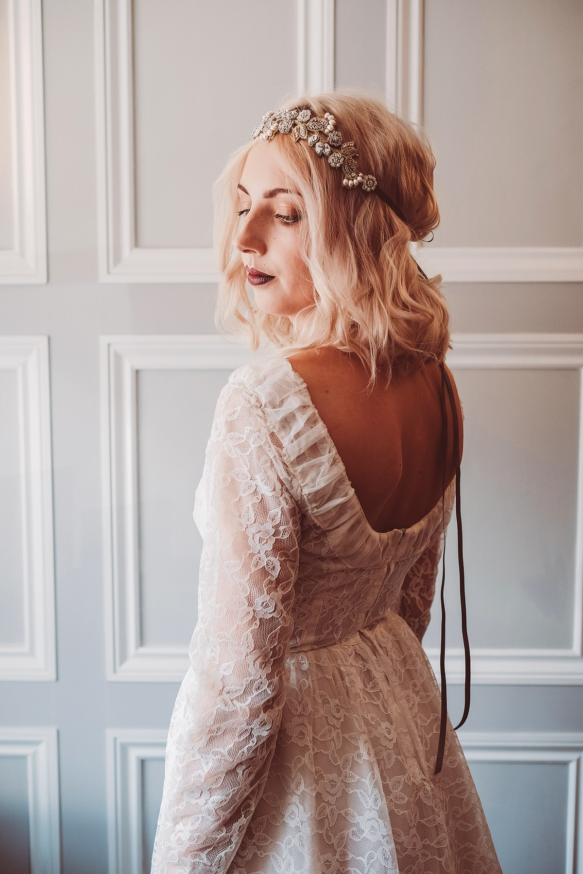 Vintage wedding dresses and bridal fashion from the 1940's, 1950's, 1960's and 1970's, from Story of My Dress. Images by Lemonade Pictures.