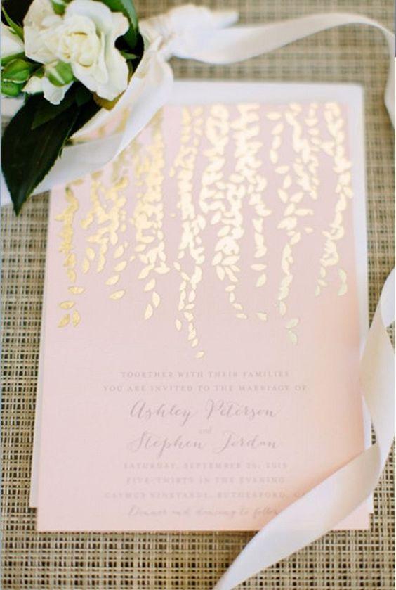 Blush Wedding Printable