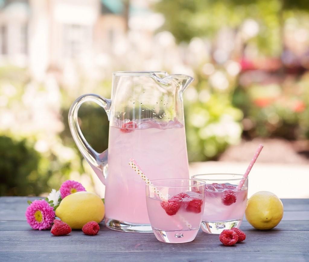 Blush Pink Lemonade Stand