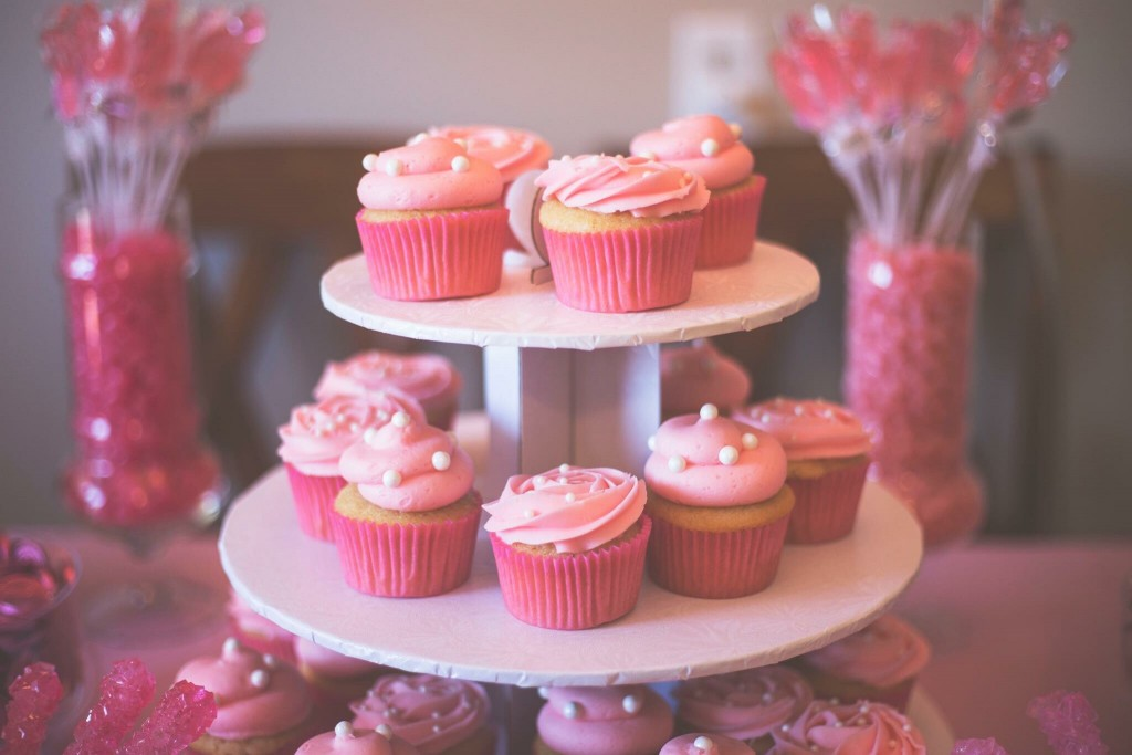 Blush Cupcakes