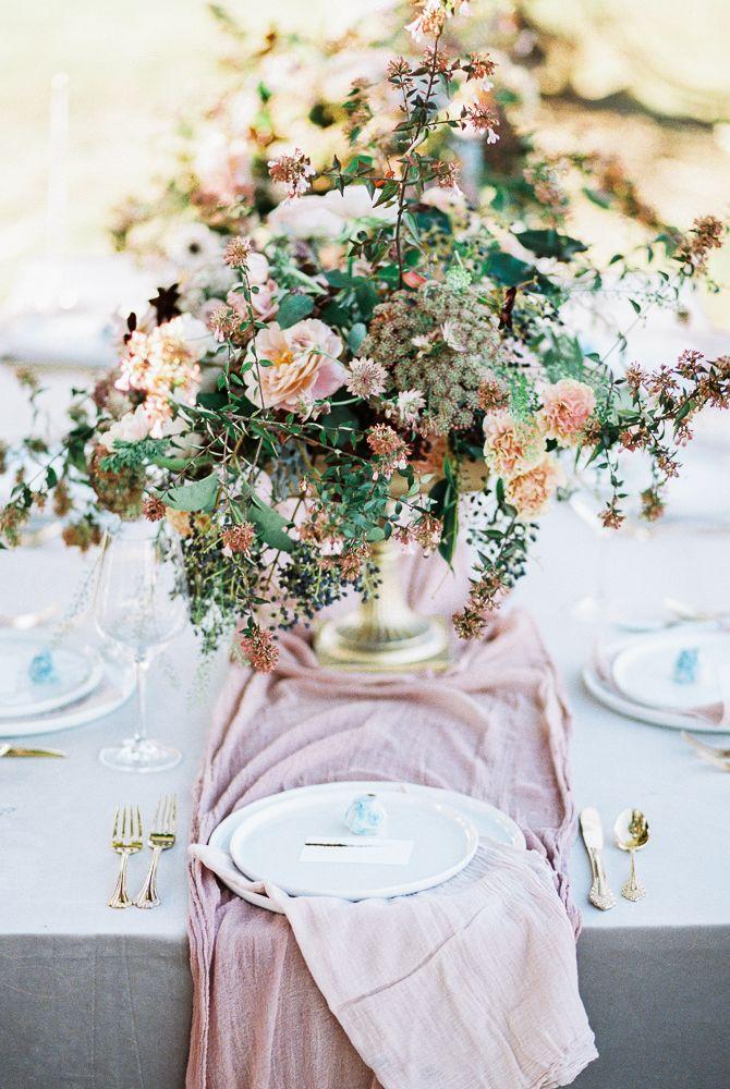 Light and Arrow Photography - Blush and Mauve Wedding Inspiration - Wedding Sparrow