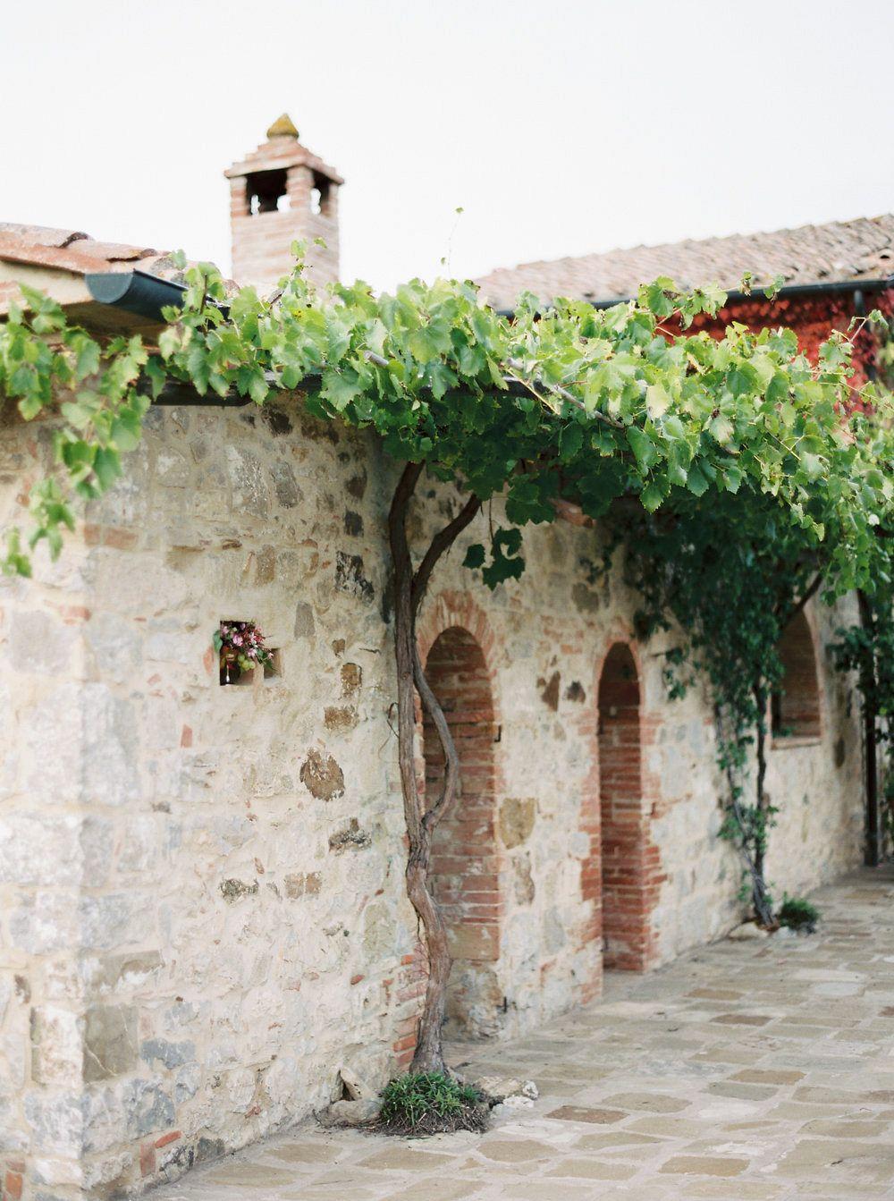 Rustic Italian Villa Wedding Ideas