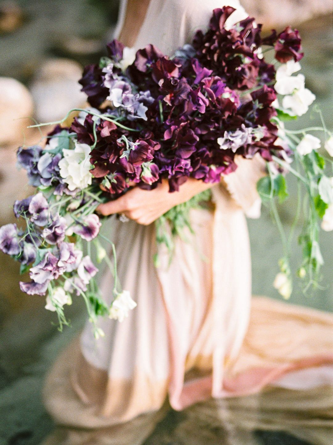 Summer Sweet Pea Bridal Inspiration