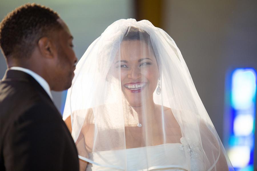 Real Plus Size Wedding-Music Inspired Wedding