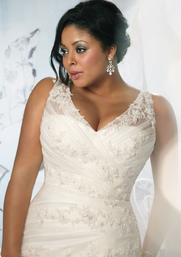 some words about plus size bride