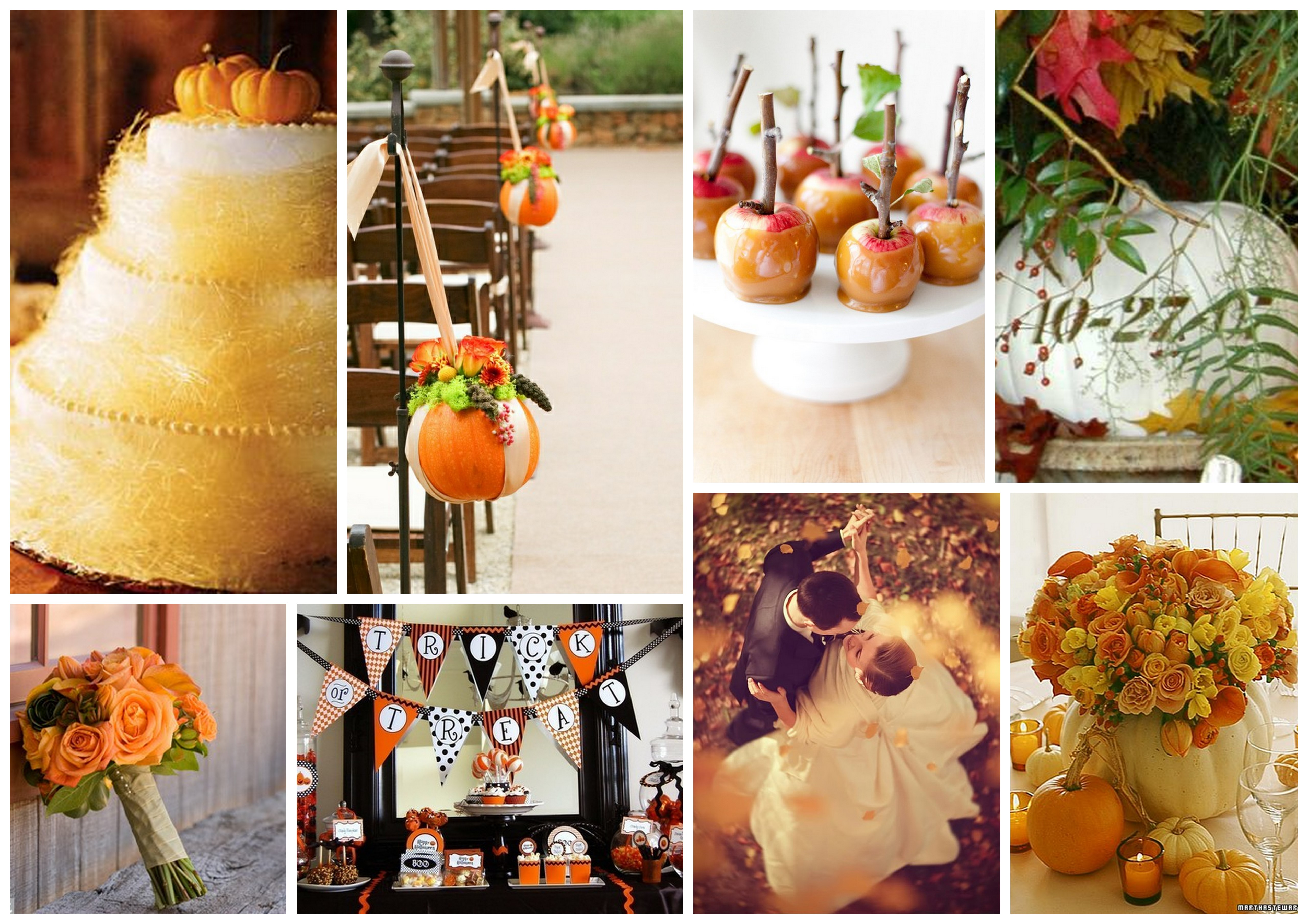 5 interesting Wedding styles in Fall