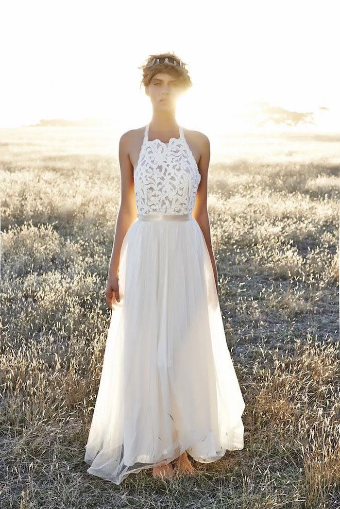 Bohemian Sexy Lace Wedding Dresses 09